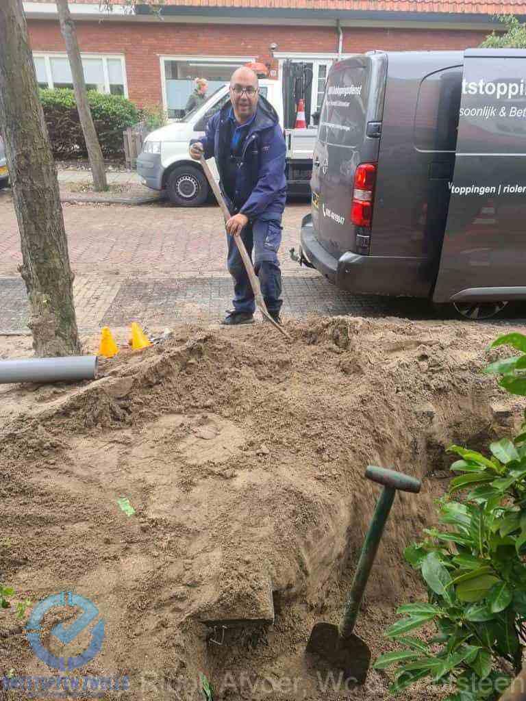 Riool ontstoppen Zwolle graven